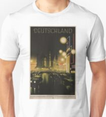 Vintage Travel Poster – Deutschland T-Shirt
