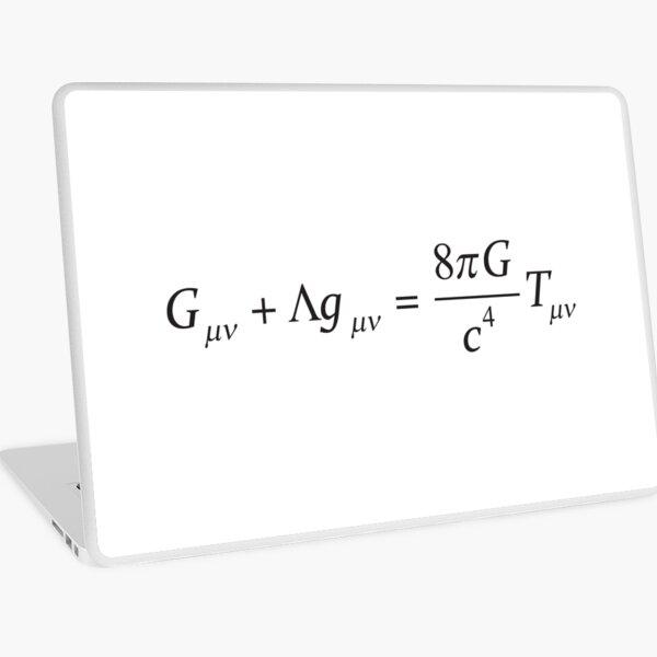 Einstein field equation Laptop Skin