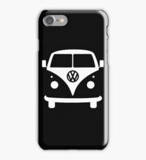 VW splittie bus outline_ Kombi outline iPhone Case/Skin