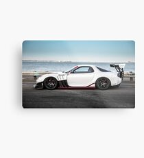 Widebody Mazda RX7  Metal Print