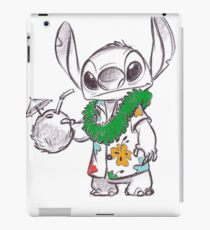 Stitch Goes On A Vacation iPad Case/Skin