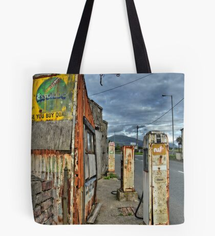 Old Filling / Gas Station, Wales, UK Tote Bag