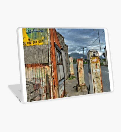 Old Filling / Gas Station, Wales, UK Laptop Skin