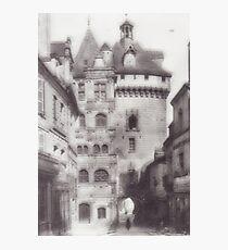 Hotel de ville loches Photographic Print