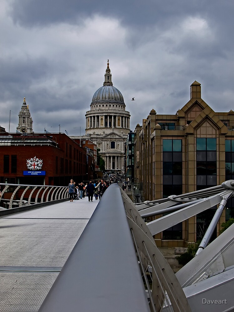 St pauls cathedral by Daveart