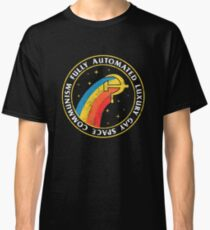 Camiseta clásica Comunismo espacial gay de lujo completamente automatizado