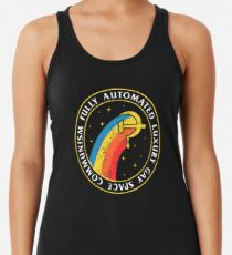 Fully Automated Luxury Gay Space Communism Racerback Tank Top