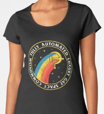 Fully Automated Luxury Gay Space Communism Women's Premium T-Shirt