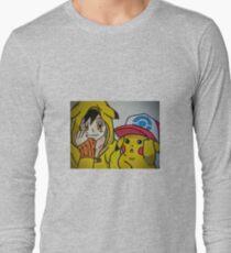 Pikachu and Ash T-Shirt