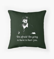 Hurt you Throw Pillow