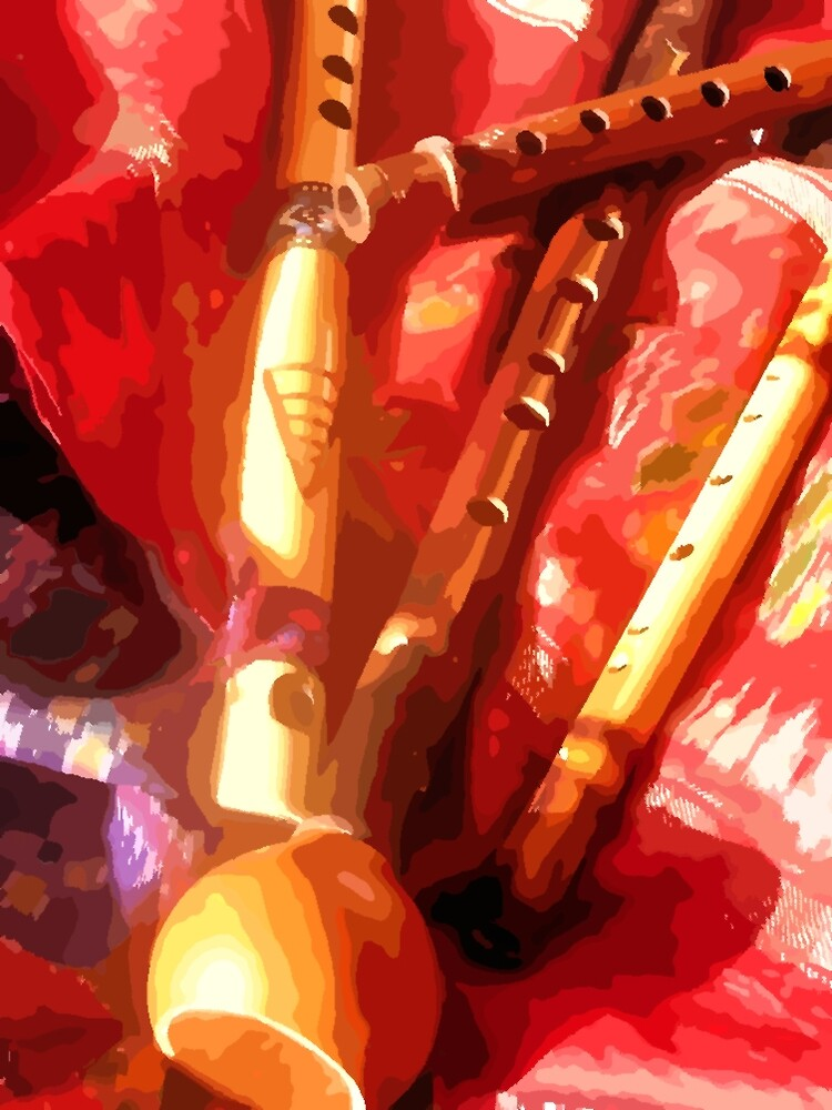 Ethnic Flutes by aline
