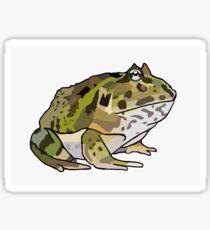 Ornate Pacman Frog Sticker