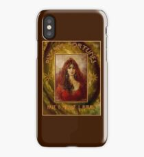 PSYCHIC FORTUNES: Vintage Fortune Telling Print iPhone Case