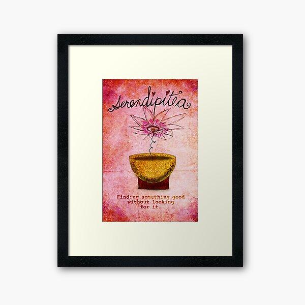 What my #Tea says to me February 19, 2013 Framed Art Print