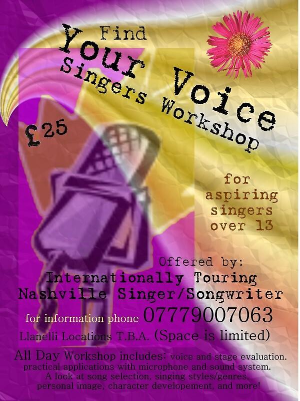 Singers Workshop Poster/Flyer by aline