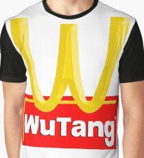 WUTANG FAST FOOD Graphic T-Shirt