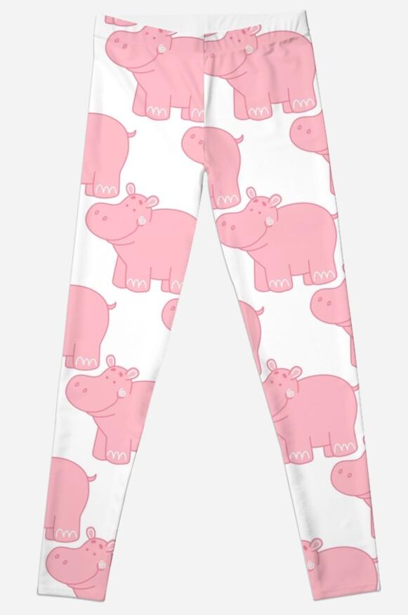 Pink Hippo by InnaQueen