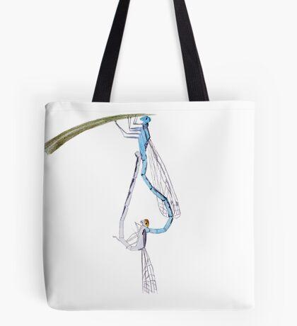 Dragonflies in Love Tote Bag