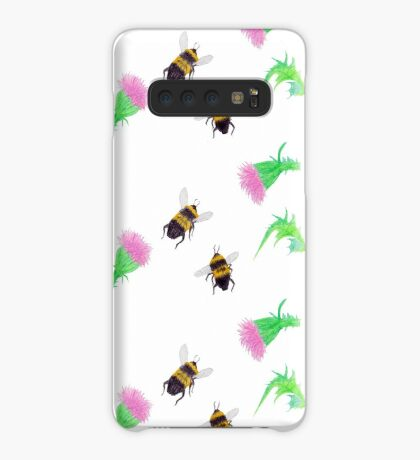 Bumblebees and Thistles Case/Skin for Samsung Galaxy