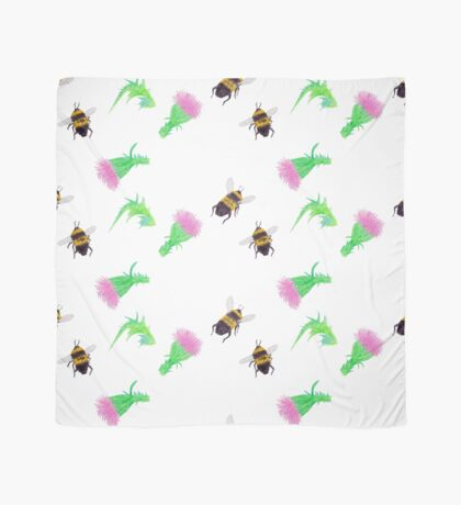 Bumblebees and Thistles Scarf