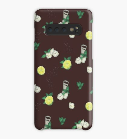 cuba libre _ recipe pattern Case/Skin for Samsung Galaxy