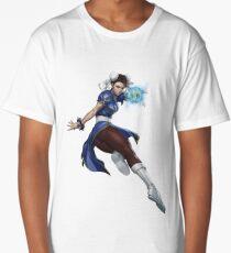 Female Fighter 2 Long T-Shirt