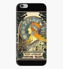 GYPSY ASTROLOGY; Vintage Wahrsagerin-Print iPhone-Hülle & Cover