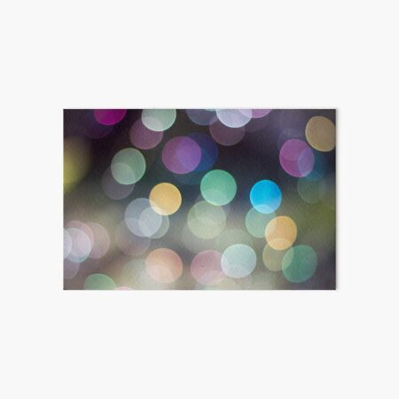 Soap Film - The iridescent colours of soap film Art Board Print