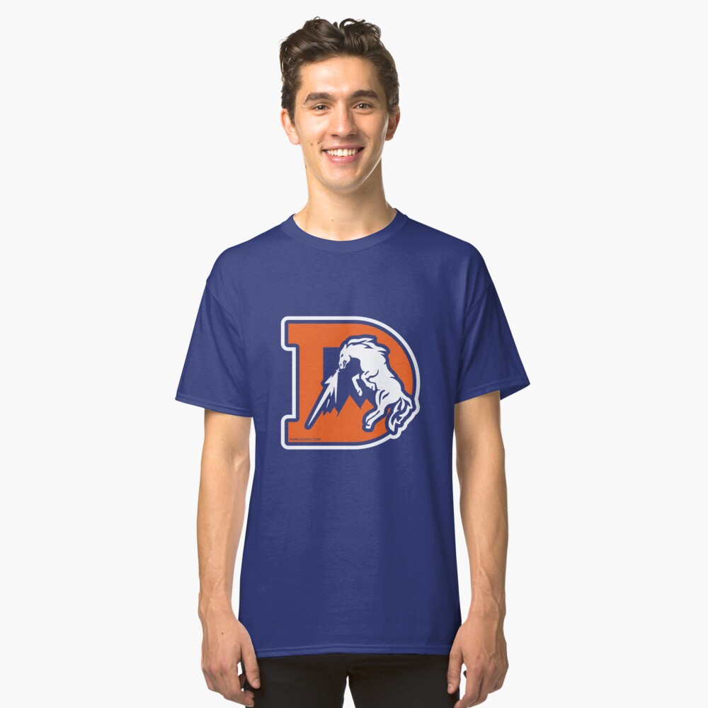 The Denver D Classic T-Shirt Front