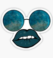 Sunglasses and Lips  Sticker