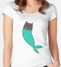 a very good boy Women's Fitted Scoop T-Shirt