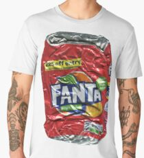 Fanta > Fruit Twist - Crushed Tin Men's Premium T-Shirt