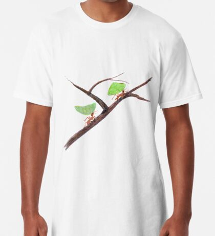 Weaver Ants going home Long T-Shirt