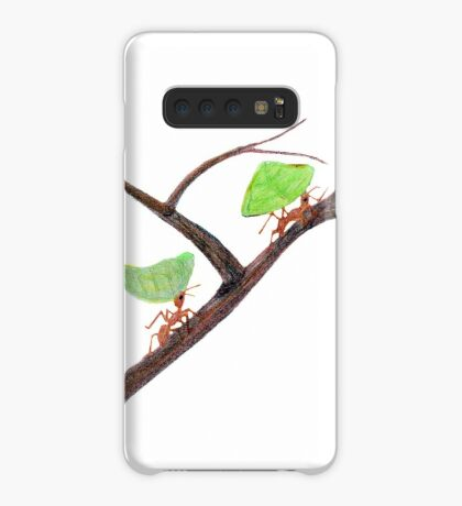 Weaver Ants going home Case/Skin for Samsung Galaxy