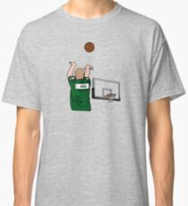 Bird 3-Point Warm Up Shoulder Cannon Classic T-Shirt