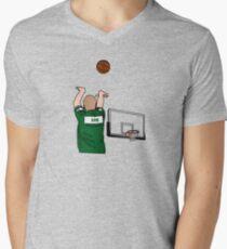 Bird 3-Point Warm Up Shoulder Cannon T-Shirt