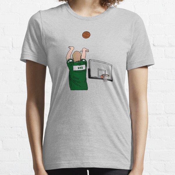 Bird 3-Point Warm Up Shoulder Cannon Essential T-Shirt