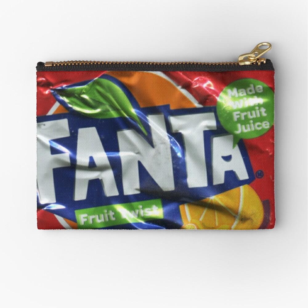 Fanta > Fruit Twist - Crushed Tin Zipper Pouch