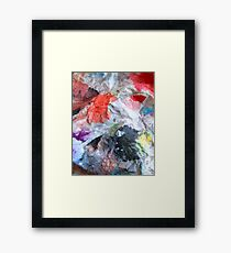 abstract phoenix flight 09/12/17 Framed Print