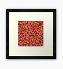Autumn Animal Print 4 Framed Print