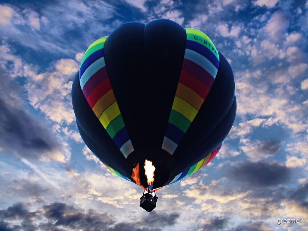 Hot Air Balloon by grezmel