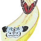 Bytterfly Banana Feast by Linda Ursin