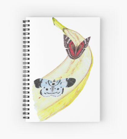Bytterfly Banana Feast Spiral Notebook
