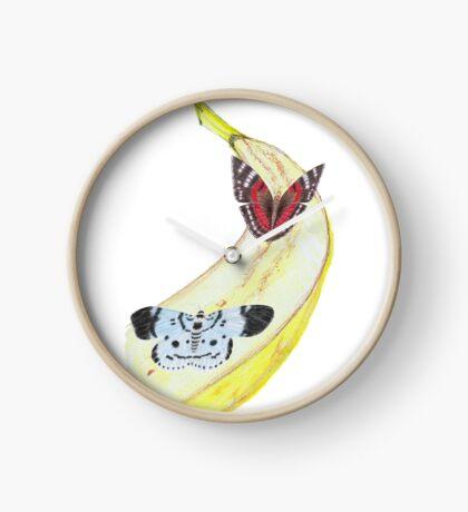 Bytterfly Banana Feast Clock
