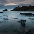dawn at dunnottar castle by codaimages