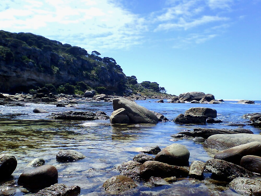 Shelley Cove at Bunkers Bay, Western Australia  by David Lang
