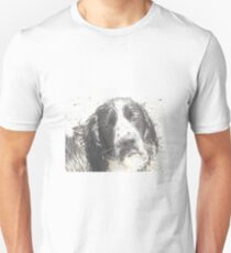 english springer spaniel odd art unisex t shirt