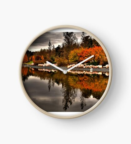 On Golden Pond Clock