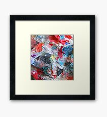 abstract phoenix feathers 09/12/17 Framed Print