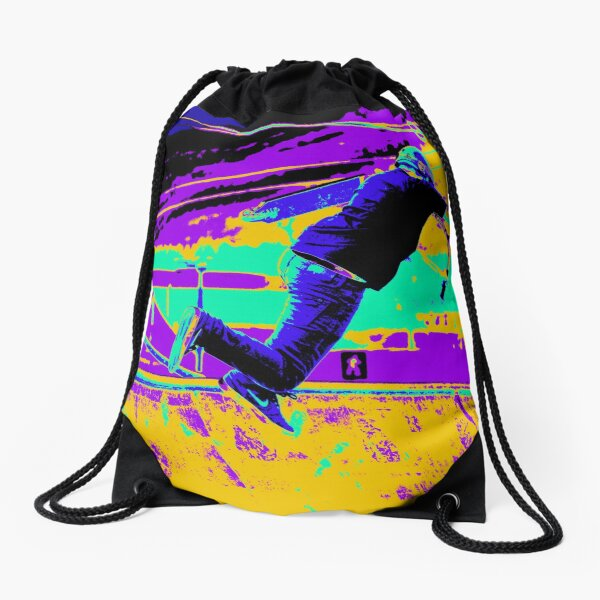 Tail Whip Tryout - Stunt Scooter Drawstring Bag